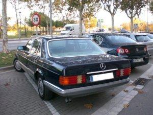 Mercedes-Benz S 1985, Manual, 2,8 litres
