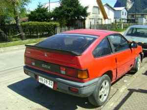 Honda Civic 1985, Manual, 1,6 litres