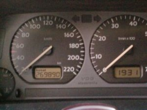 Volkswagen Golf 1994, Manual