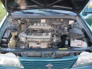 Nissan Sentra 1997, Manual